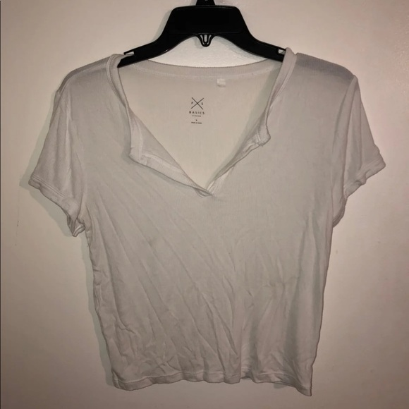 PacSun Tops - Pacsun White ribbed Top FINAL PRICE